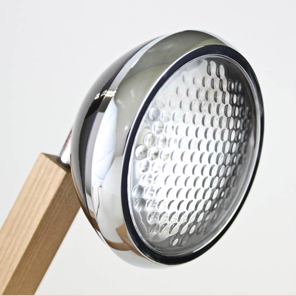 Soyee| LED梣木機器人燈(時尚黑)
