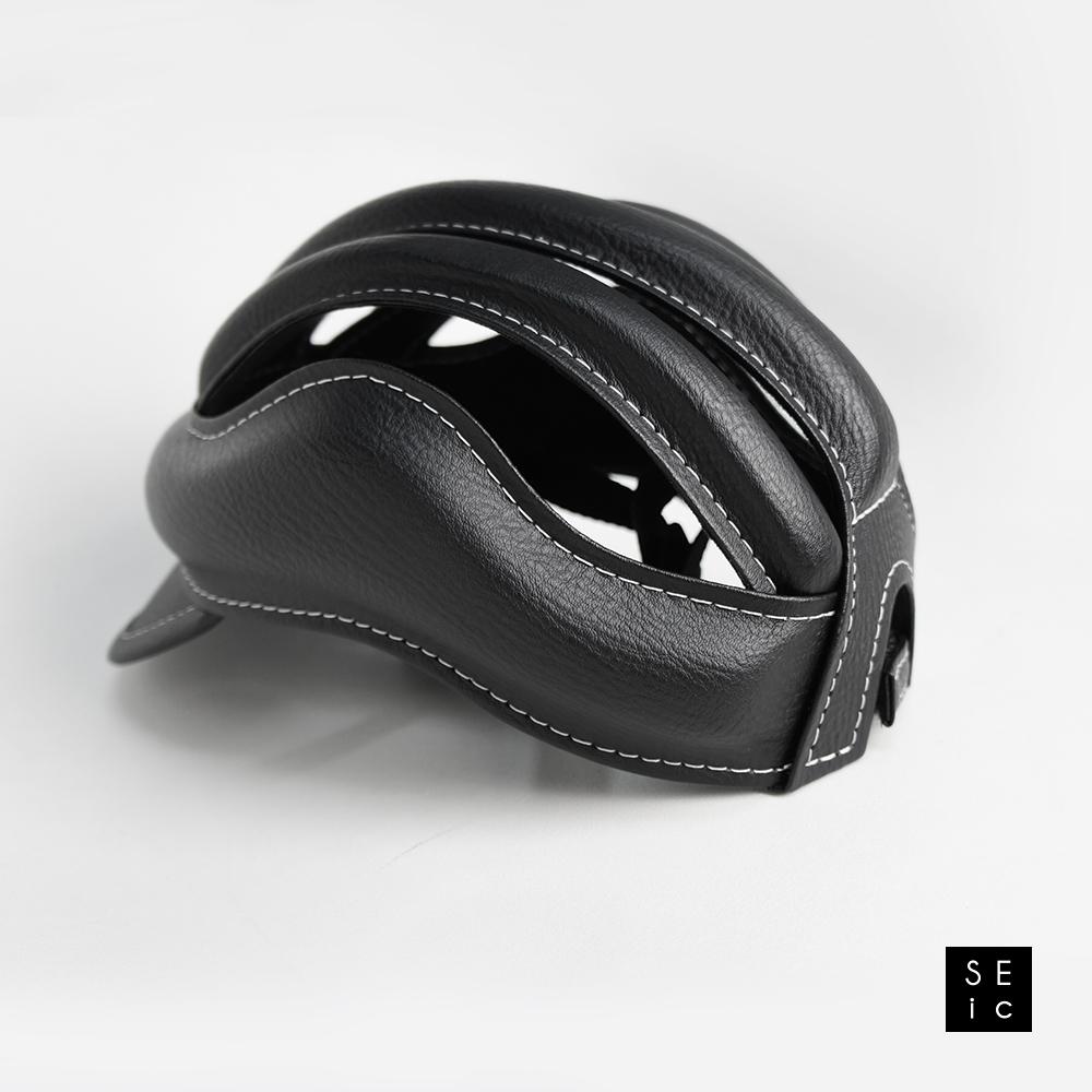 SEic|皮質復古單車皮帽