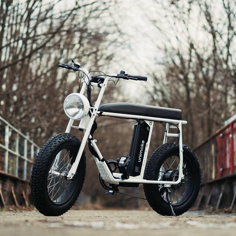 Urban Drivestyle UNI Moke 電動輔助自行車 - 經典珍珠白