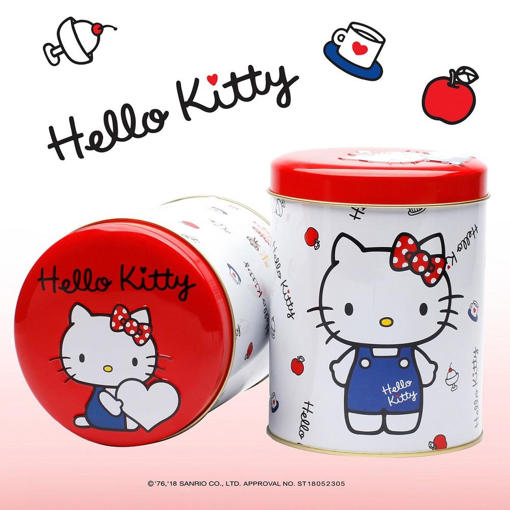 米樂爆米花 | Hello Kitty蘑菇型爆米花系列四入組合(焦糖+牛奶巧克力+原味甜+玉米濃湯)