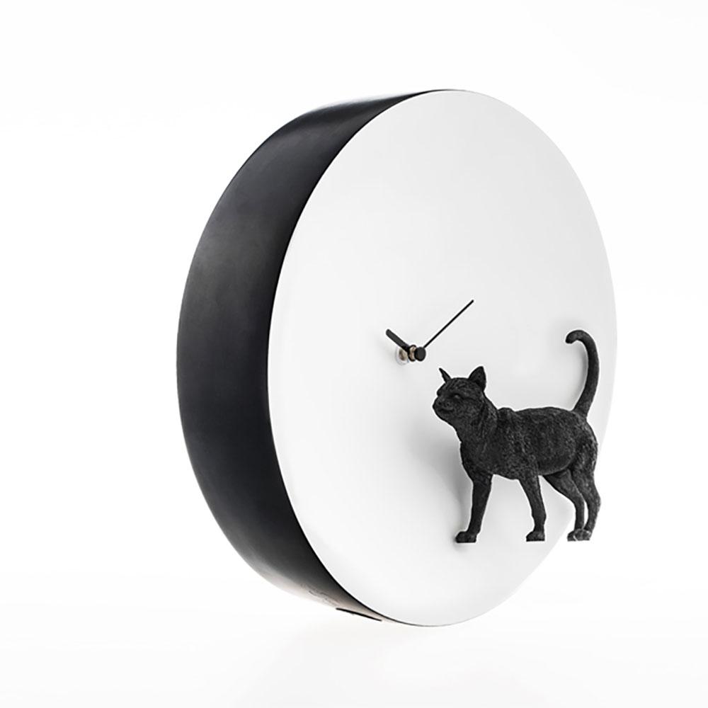 haoshi 良事設計 月亮時鐘 - 貓