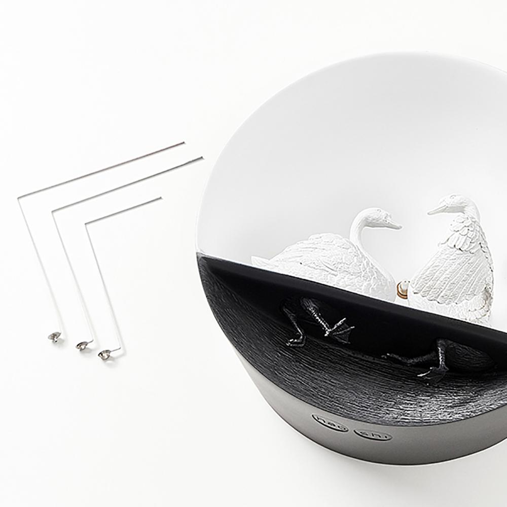 haoshi 良事設計 水鳥時鐘 - 天鵝02