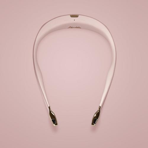 ible × Airvida|頸掛式空氣清淨機-都會粉