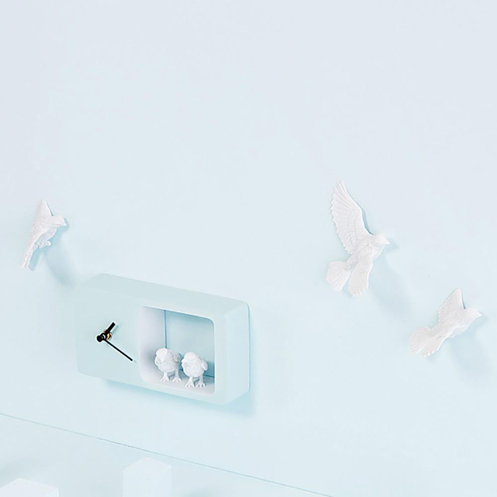 haoshi 良事設計|麻雀時鐘 (藍色版)