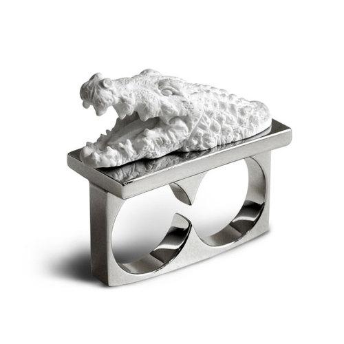 haoshi 良事設計 動物雙戒指(2款可選)