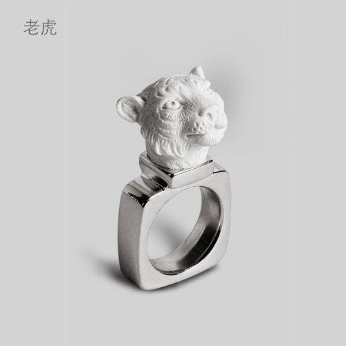 haoshi 良事設計|動物戒指 (10款可選)