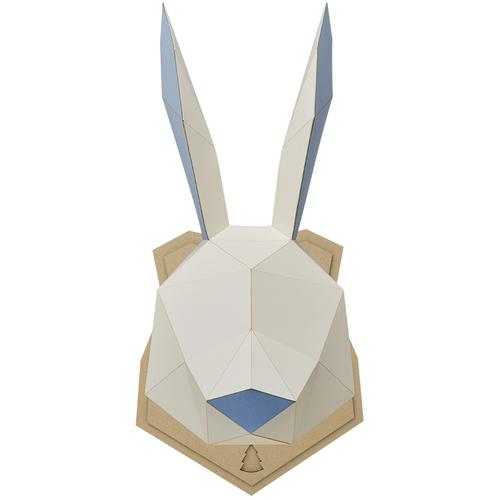 bog craft 立體動物紙藝  兔子/Wall L-size