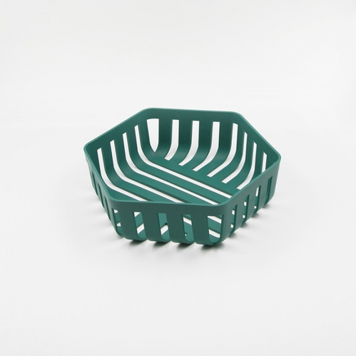 OMMO|Korg 六邊形置物籃/紫.綠 雙色可選
