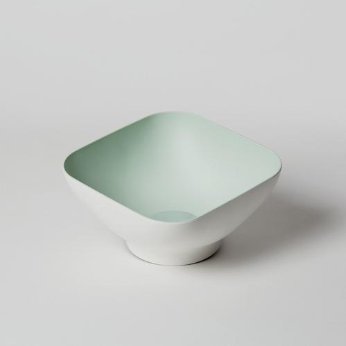 OMMO Diga 濾水方形沙拉碗(兩人份)/粉.綠 雙色可選