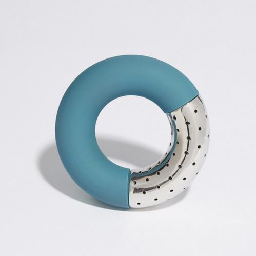 OMMO|Torus 環狀泡茶格/灰.藍.橘 三色可選