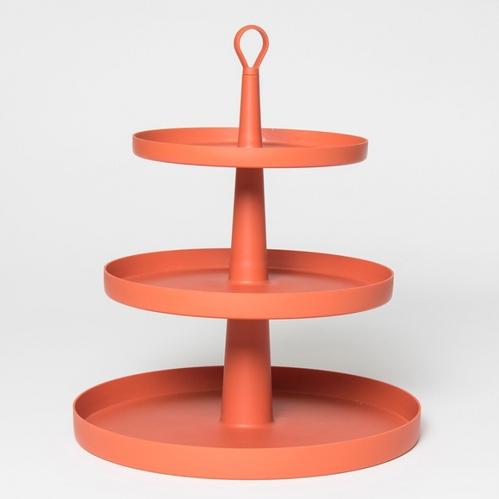 OMMO|Tiers 可調式三層置物架/粉.綠.橘 三色可選