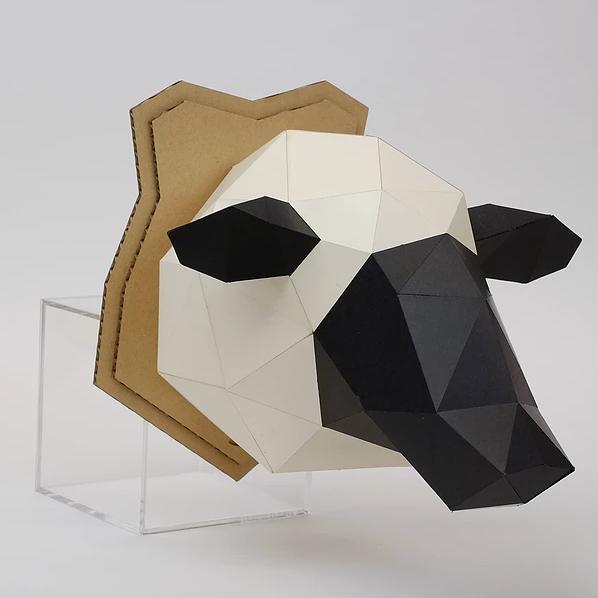 (複製)bog craft|立體動物紙藝  長頸鹿/Wall L-size