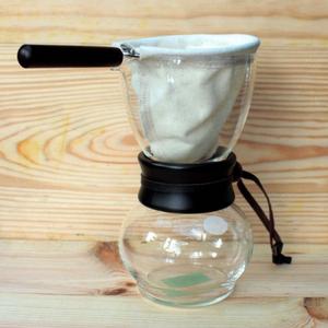 Hario | 玻璃手沖咖啡壺.法蘭絨免濾紙 (DPW-1)