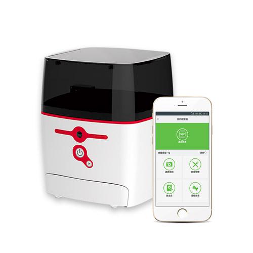 QB Tech|Feed Me 飛米智慧寵物互動餵食器(紅色)