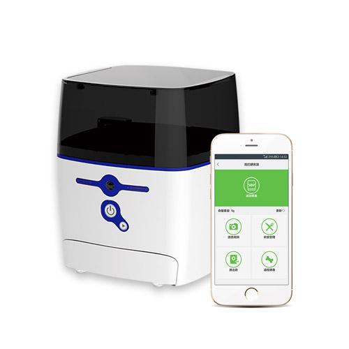 QB Tech|Feed Me 飛米智慧寵物互動餵食器(藍色)
