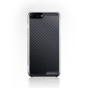 monCarbone|KHROME 碳纖維保護殼 for iPhone 7 (鉻合金/碳纖黑)