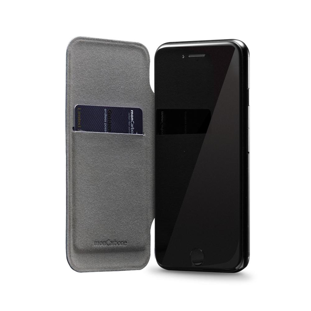 monCarbone|MAGSHIELD 碳纖維磁吸型保護套 for iPhone 7