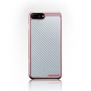 monCarbone|KHROME 碳纖維保護殼 for iPhone 7 (玫瑰金/碳纖銀)