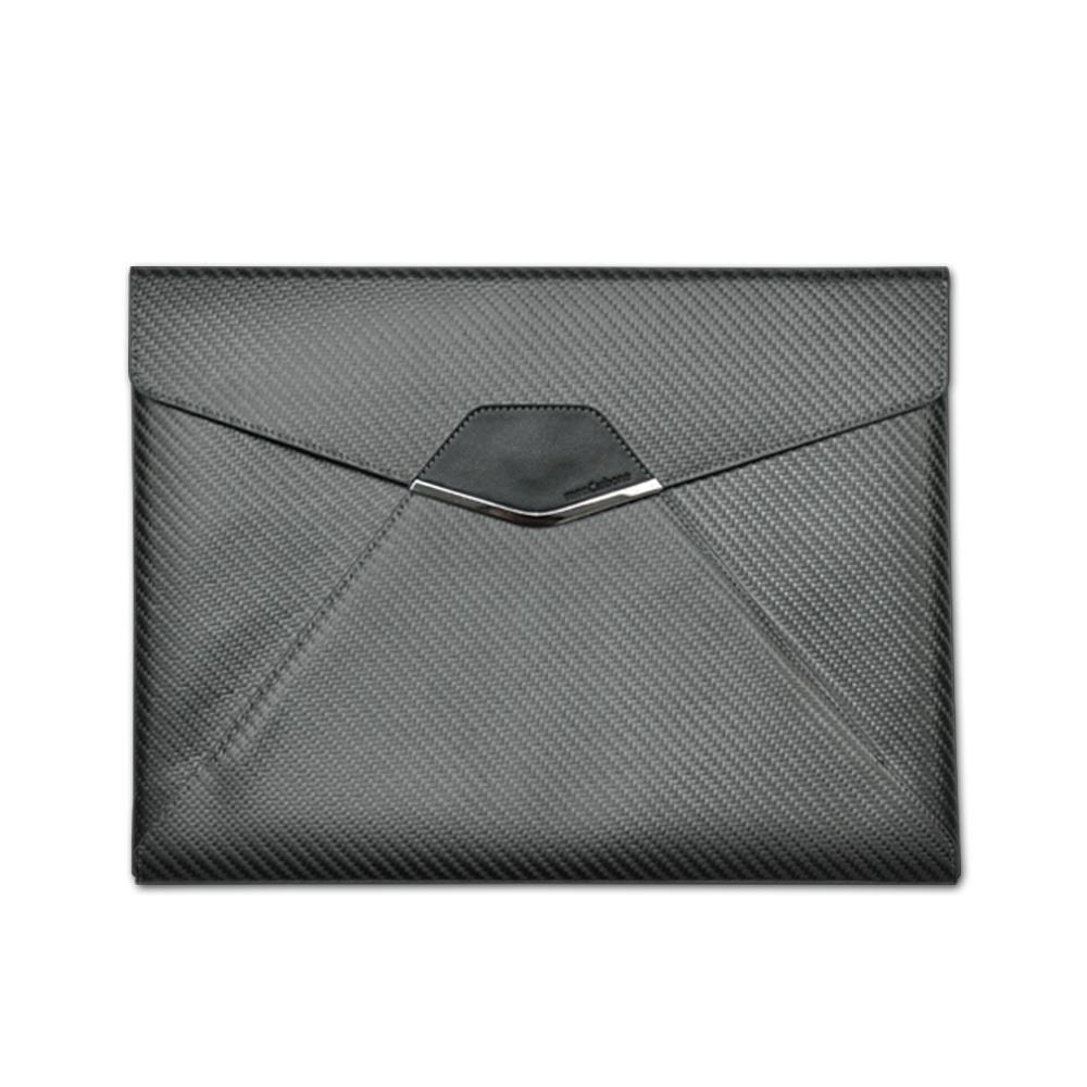 monCarbone|Sleek Classic 經典款碳纖維收納袋 (iPad Pro 12.9)