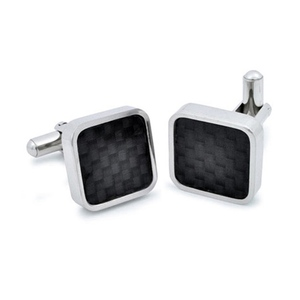 monCarbone|碳纖維袖扣 (一組)