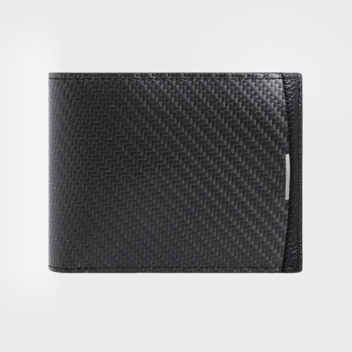 monCarbone|BlackLabel 碳纖維經典短夾