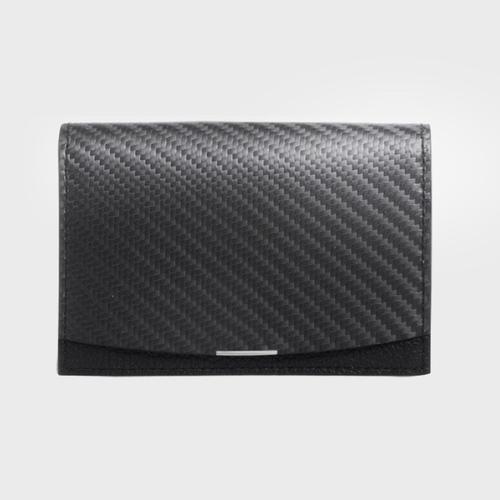 monCarbone|BlackLabel 碳纖維拉鍊短夾