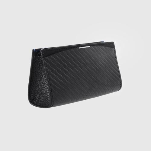 monCarbone BlackLabel 碳纖維多功能零錢包