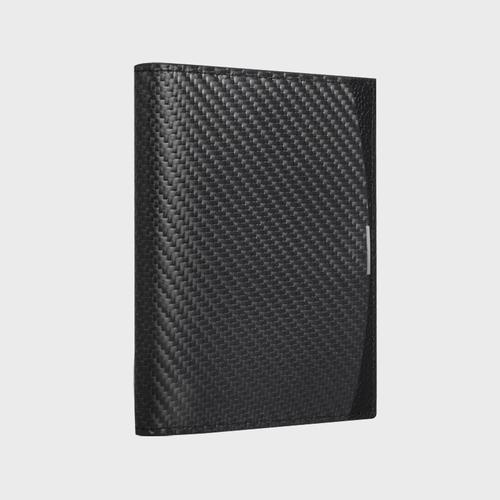 monCarbone|BlackLabel 碳纖維護照夾