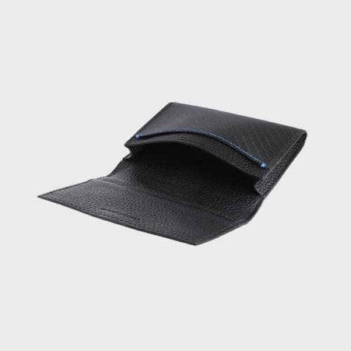 monCarbone|BlackLabel 碳纖維折疊式名片夾