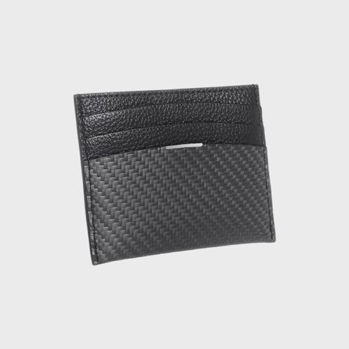 monCarbone|BlackLabel 碳纖維輕薄型名片夾