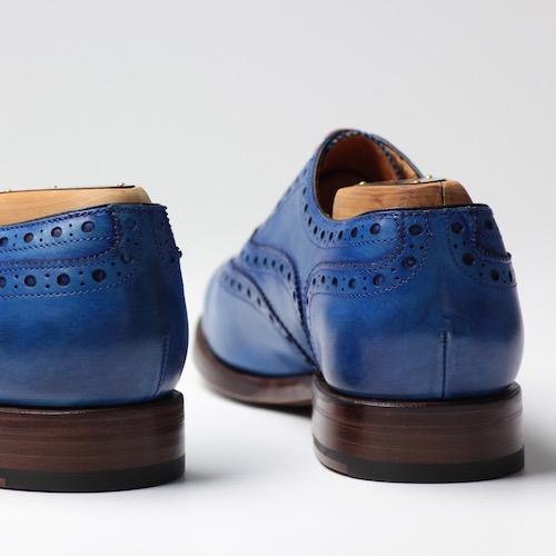 Berwick1707|114 雕花牛津 SICALF OCEANO (藍色)