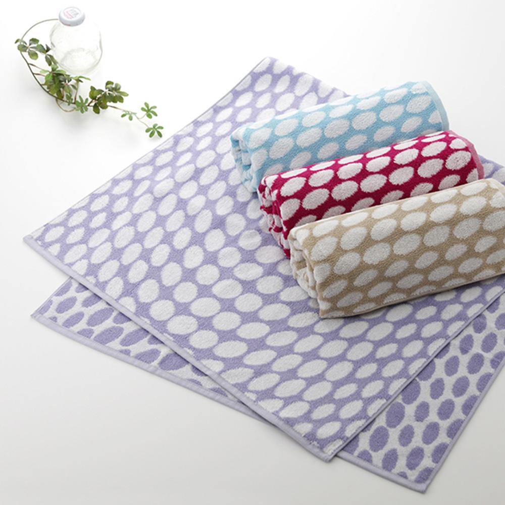 今治織上|日本今治毛巾 今治認證 ORIM 水玉系列 (臉巾)