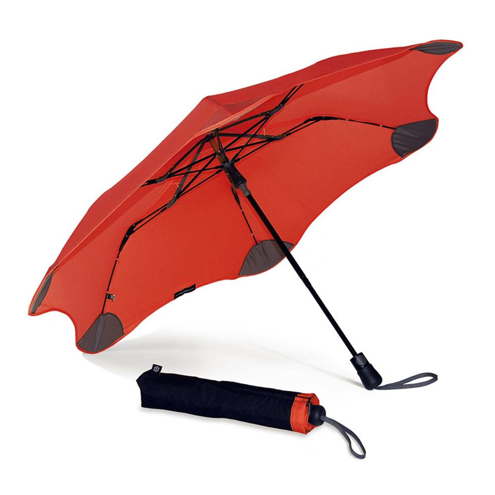 紐西蘭Blunt 保蘭特 | 95cm抗強風 防反傘 Metro折傘 (時尚紅)