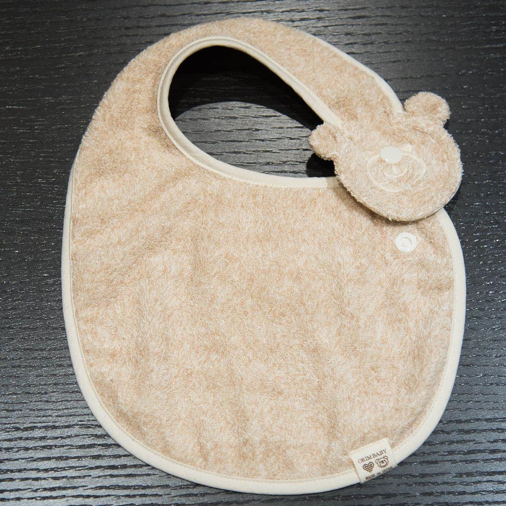 今治織上 日本今治毛巾 今治認證 ORIM Original baby有機棉圍兜