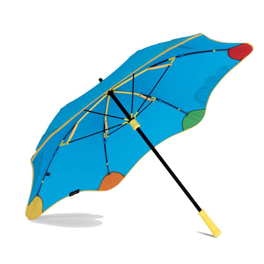 紐西蘭Blunt 保蘭特 | 97cm 變色兒童安全直傘 (風格藍)