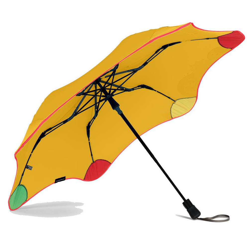 紐西蘭Blunt 保蘭特 | 95cm  變色兒童安全折傘 (糖果黃)