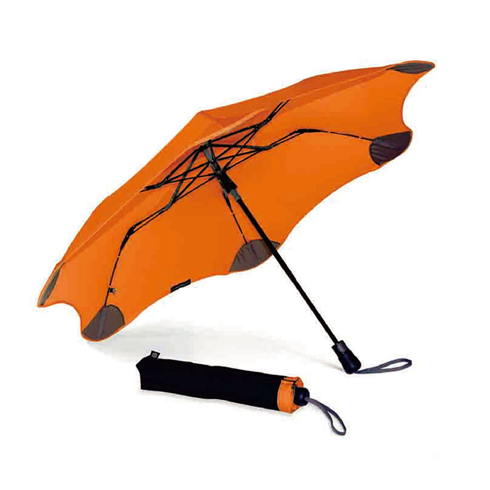 紐西蘭Blunt 保蘭特 | 95cm抗強風 防反傘 Metro折傘 (豔陽橘)