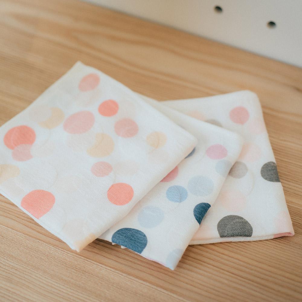 今治織上|日本今治毛巾 今治認證 吉井 空氣二重織點點 (手巾)