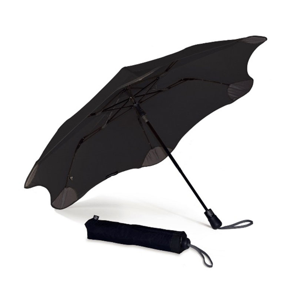 紐西蘭Blunt 保蘭特 | 95cm抗強風 防反傘 Metro折傘 (潮流黑)