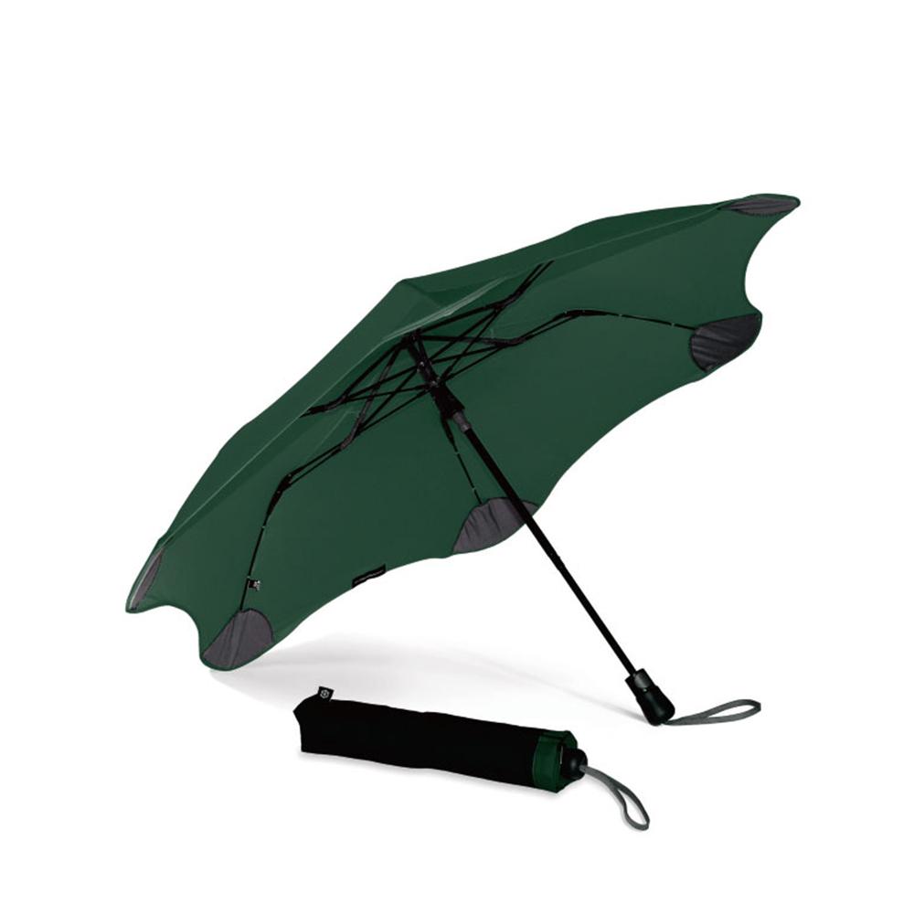 紐西蘭Blunt 保蘭特 | 95cm抗強風 防反傘 Metro折傘 (森林綠)