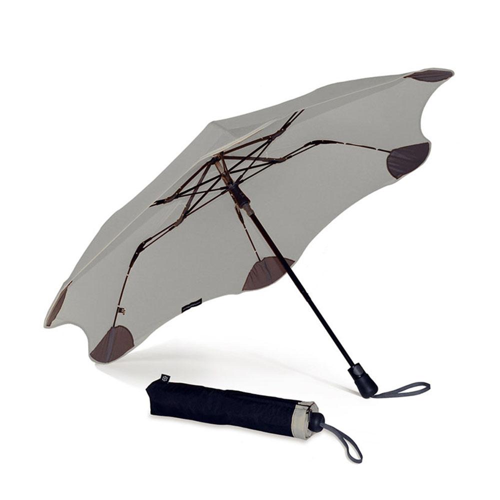 紐西蘭Blunt 保蘭特 | 95cm抗強風 防反傘 Metro折傘 (經典灰)