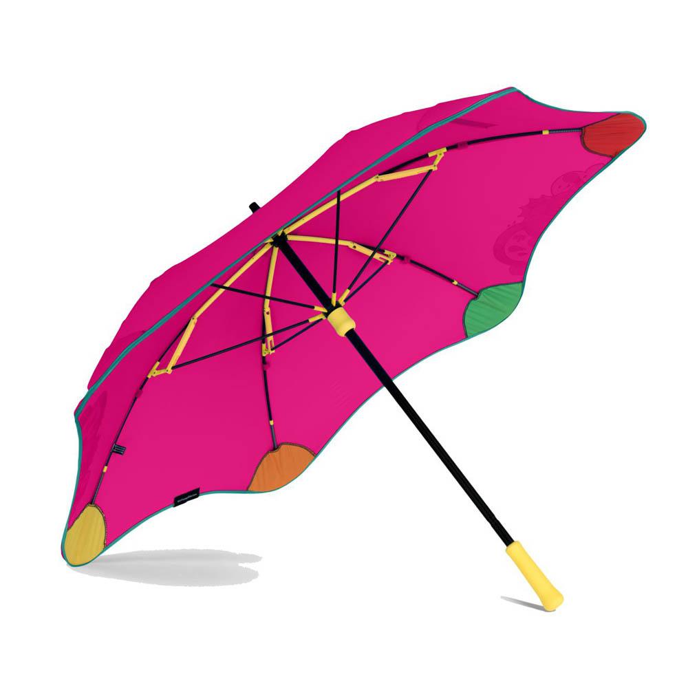 紐西蘭Blunt 保蘭特 | 97cm 變色兒童安全直傘 (艷桃紅)