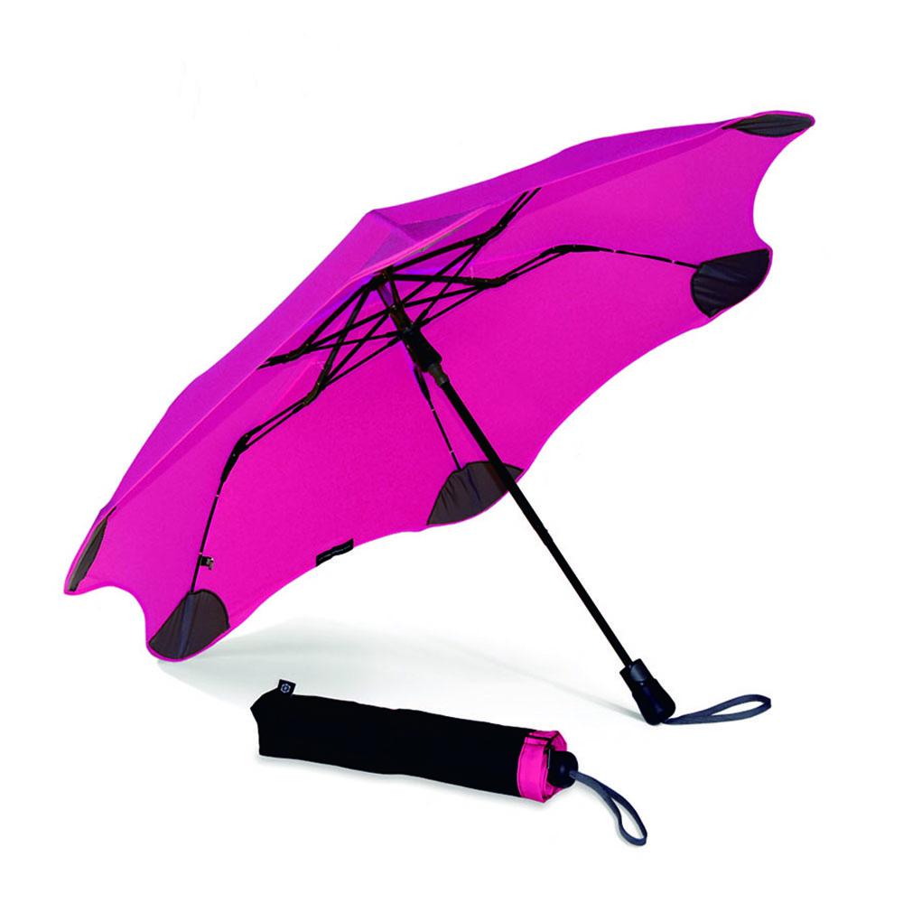 紐西蘭Blunt 保蘭特 | 95cm抗強風 防反傘 Metro折傘 (艷桃紅)