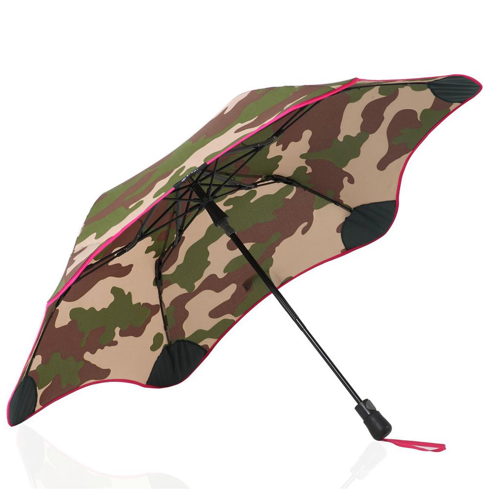 紐西蘭Blunt 保蘭特 | 95cm抗強風 metro迷彩折傘 (粉色傘緣)