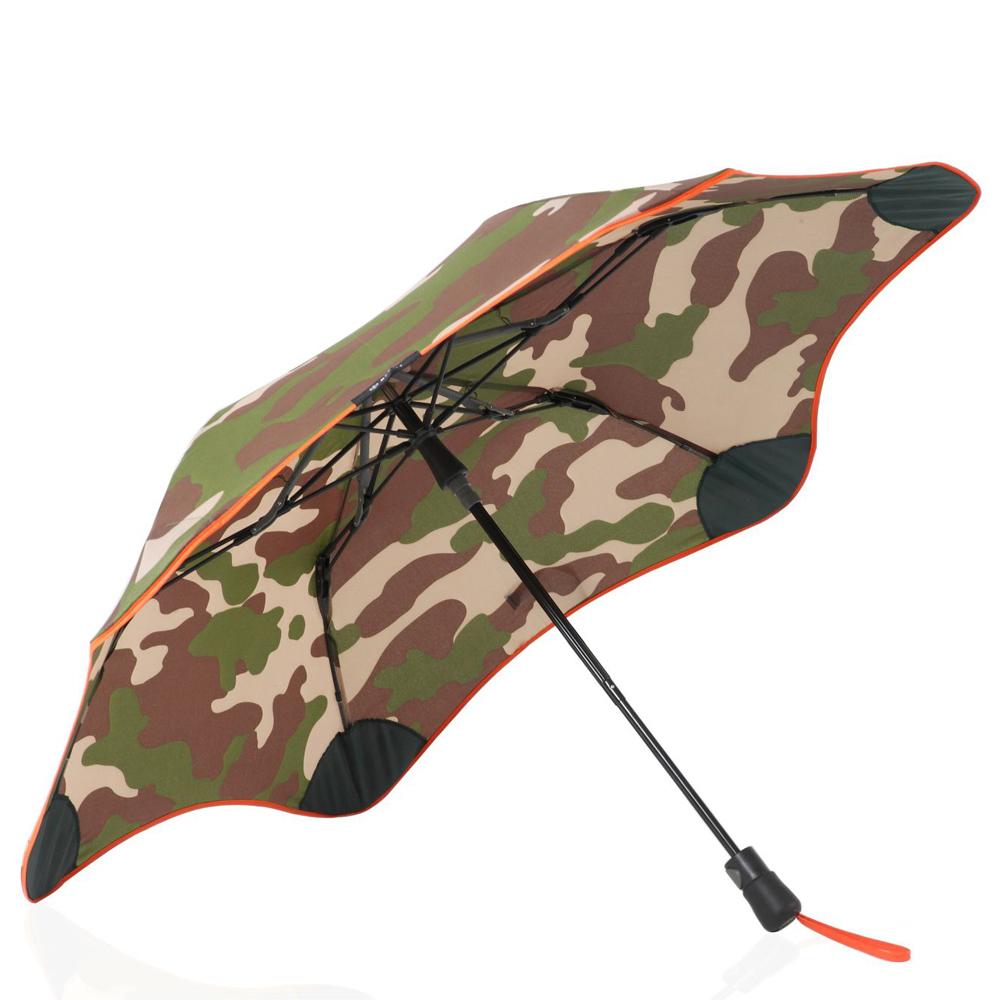 紐西蘭Blunt 保蘭特 | 95cm抗強風 metro迷彩折傘 (橘色傘緣)