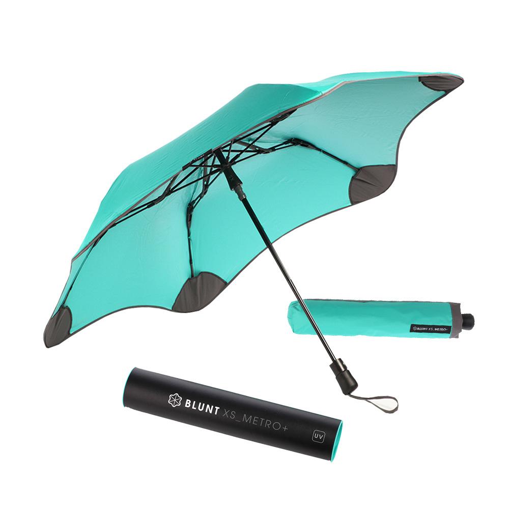 紐西蘭Blunt 保蘭特 | 95cm完全抗UV 高遮光率 Metro+ 折傘 (Tiffany綠)