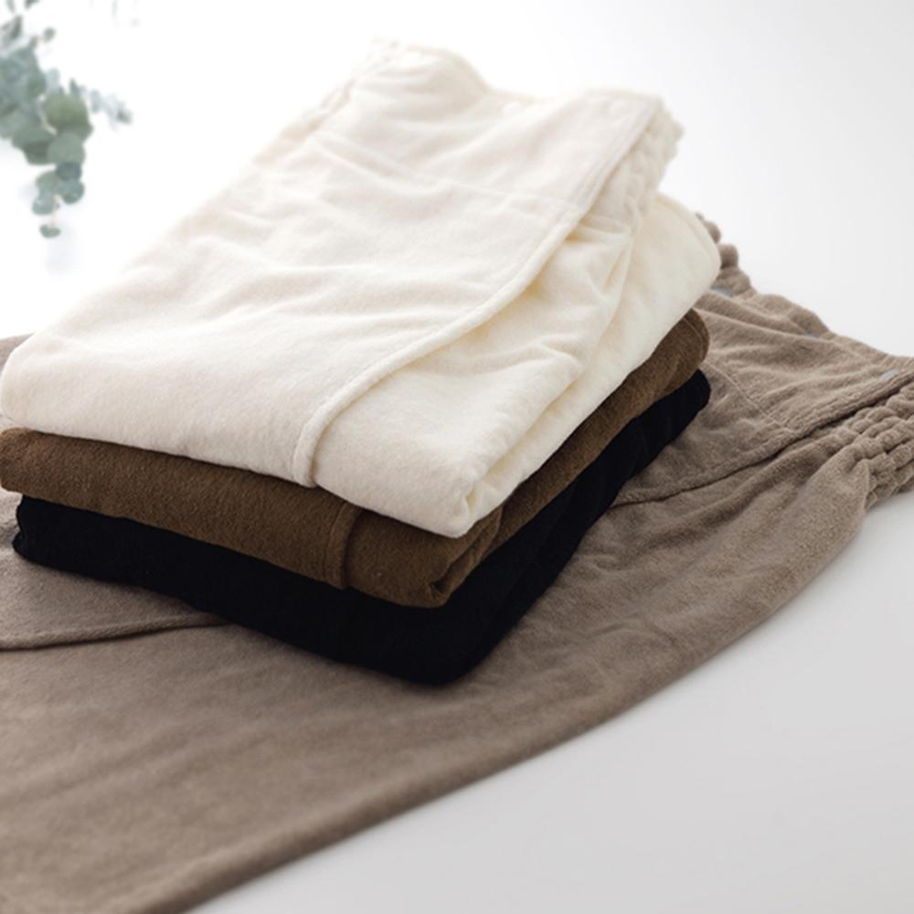 今治織上 │ 日本今治認證 多功能鈕扣裹身裙/浴袍 (黑色)