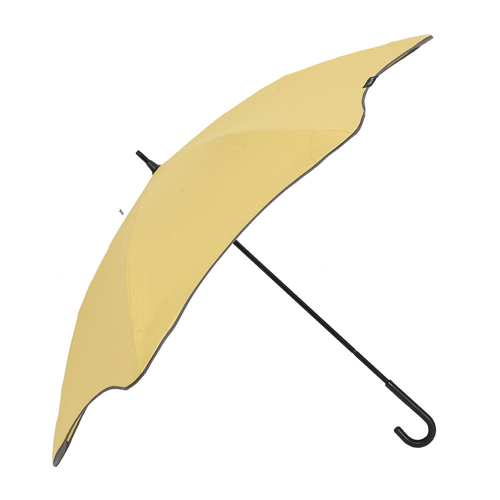 紐西蘭 Blunt 保蘭特|五年全新保固 完全抗UV勾勾輕量直傘 (糖果黃)