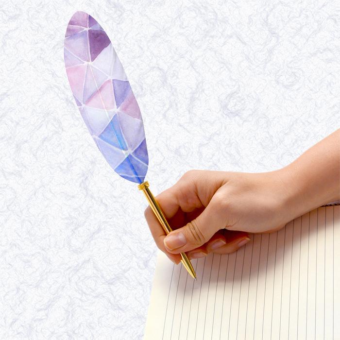 (複製)日本Quill Pen   羽毛原子筆Shell貝殼紋系列 羽毛筆 原子筆