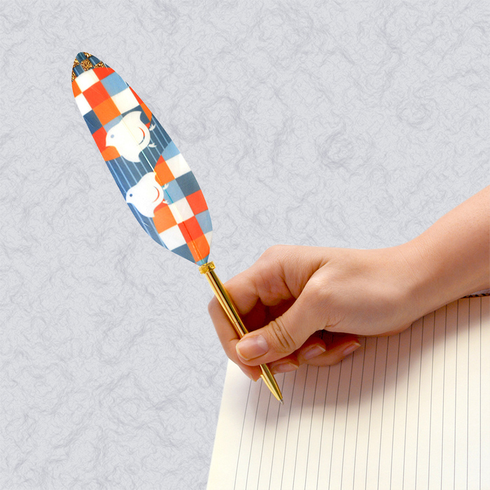 (複製)日本Quill Pen | 羽毛原子筆WaterColor水墨系列 羽毛筆 原子筆